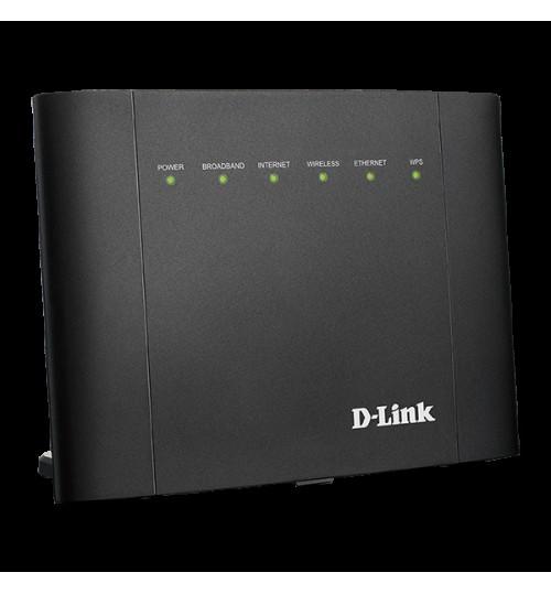 D-LINK DSL-2878 AC750 DUAL-BAND VDSL2/ ADSL2+ MODEM ROUTER