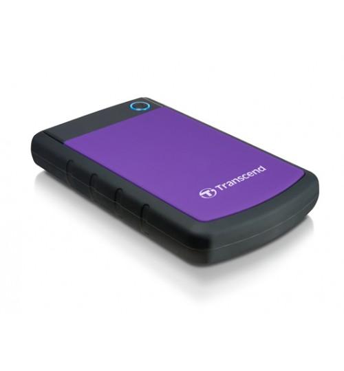 TRANSCEND STOREJET 25H3 2.5 INCH USB 3.0 EXTRA-RUGGED 1000GB (1TB) EXTERNAL HARD DISK DRIVE