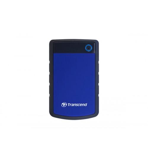 TRANSCEND STOREJET 25H3 2.5 INCH USB 3.0 EXTRA-RUGGED 2TB EXTERNAL HARD DISK DRIVE (BLUE)