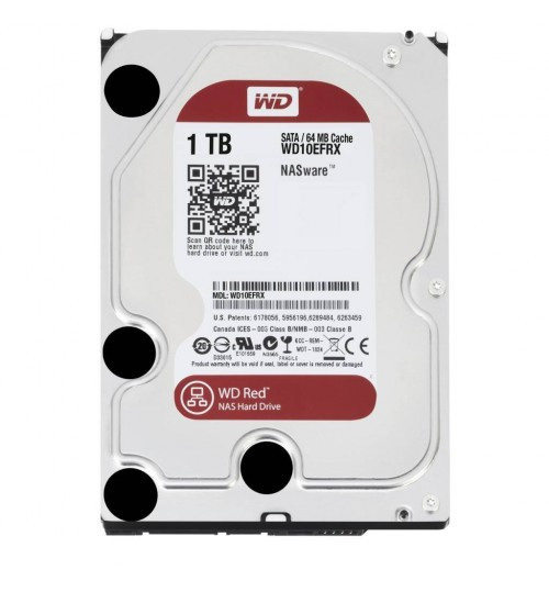 WD RED 1000GB (1TB) SATA3 64MB CACHE FOR NAS