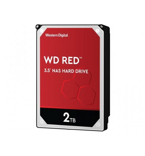 WD RED 2000GB (2TB) SATA3 256MB CACHE FOR NAS