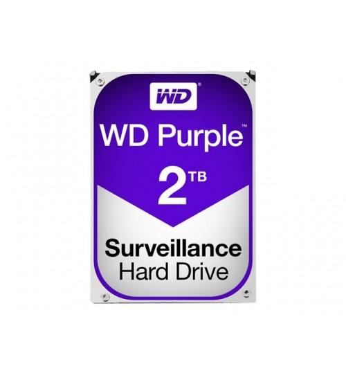 WD PURPLE 2TB SATA3 64MB CACHE HARD DRIVE