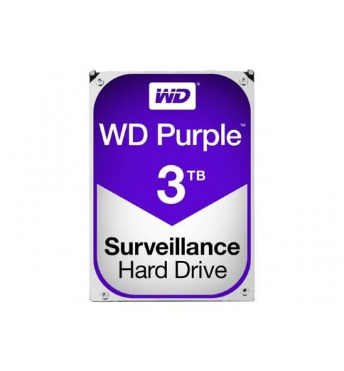 WD PURPLE 3TB SATA3 64MB CACHE HARD DRIVE