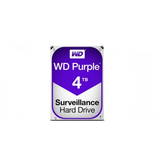 WD PURPLE 4TB SATA3 64MB CACHE HARD DRIVE