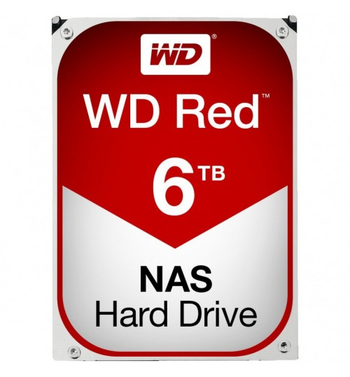 WD RED 6000GB (6TB) SATA3 256MB CACHE FOR NAS