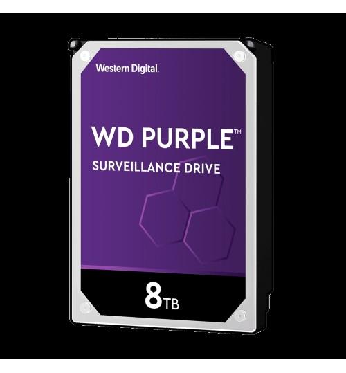 WD SURVEILLANCE PURPLE 8TB 256MB SATA3 HDD