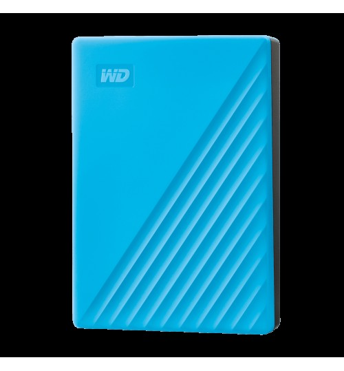 WD MY PASSPORT 4TB USB 3.0 EXTERNAL HDD BLUE