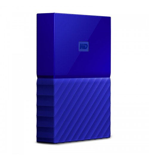 WD MY PASSPORT 2TB USB 3.0 EXTERNAL HDD BLUE