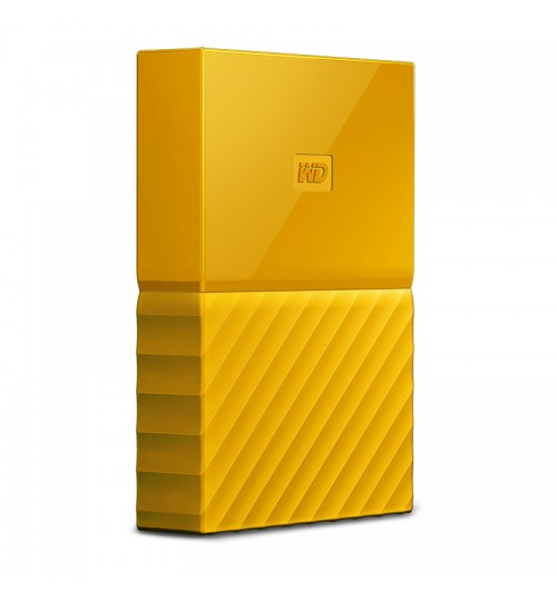 WD MY PASSPORT 4TB USB 3.0 EXTERNAL HDD YELLOW