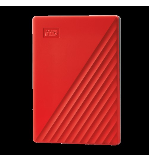WD MY PASSPORT 2TB USB 3.0 EXTERNAL HDD RED