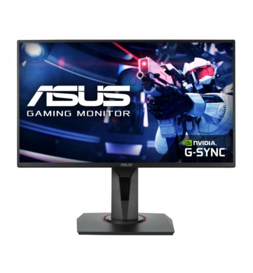 ASUS VG258QR 24.5FHD TN 1920X1080 16:9 0.5ms 165Hz FREE SYNC DVI-D HDMI DISPLAY PORT 3 YEAR PIXEL PERFECT MONITOR