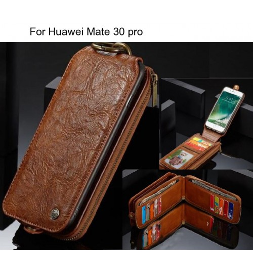 Huawei Mate 30 pro case premium leather multi cards case