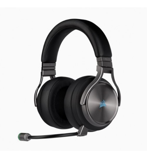 CORSAIR VIRTUOSO RGB WIRELESS HIGH-FIDELITY GAMING HEADSET - SPECIAL EDITION (GUNMETAL)