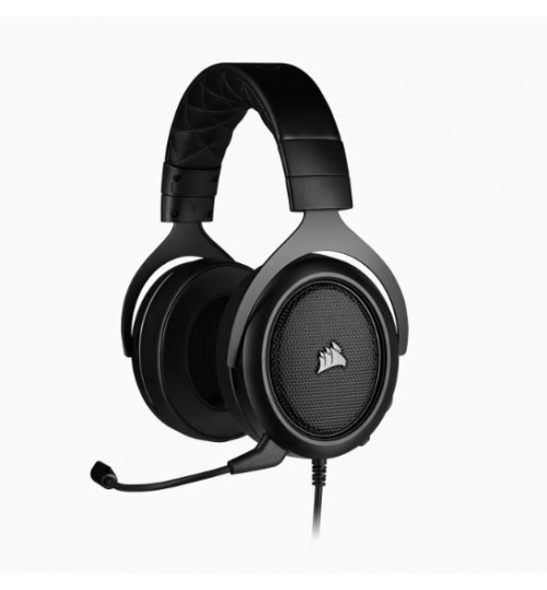 CORSAIR HS50 PRO STEREO GAMING HEADSET - BLACK