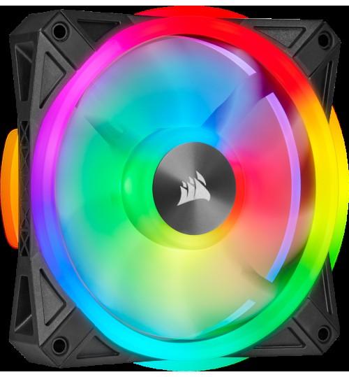 CORSAIR QL SERIES QL120 RGB 120mm RGB LED FAN - SINGLE PACK