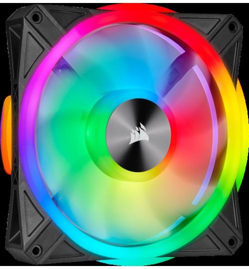 CORSAIR QL SERIES QL140 RGB 140mm RGB LED FAN - SINGLE PACK