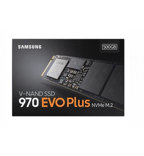 SAMSUNG 970 EVO PLUS 500GB M.2 (2280)NVME SSD R/W(MAX) 3500MB/S/3200MB/S 480K/550K IOPS 5 YEARS WARRANTY