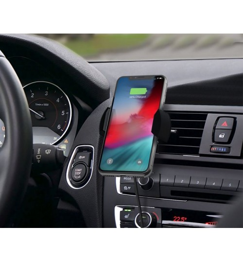 ALOGIC RAPID AIR VENT MOUNT WIRELESS CHARGER WITH QI TECHNOLOGY