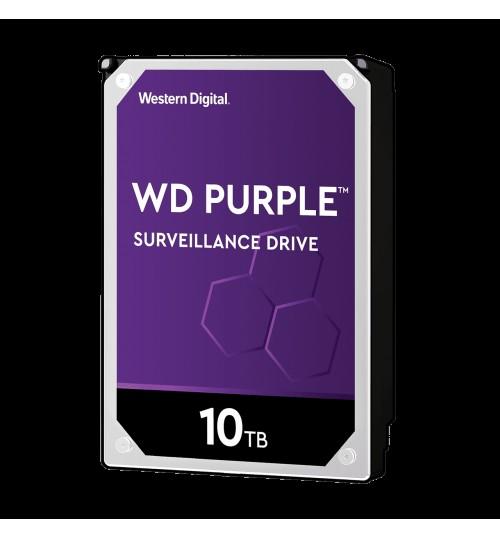 WD Purple 10TB SATA3 256MB Cache 7200RPM Surveillance Hard Drive