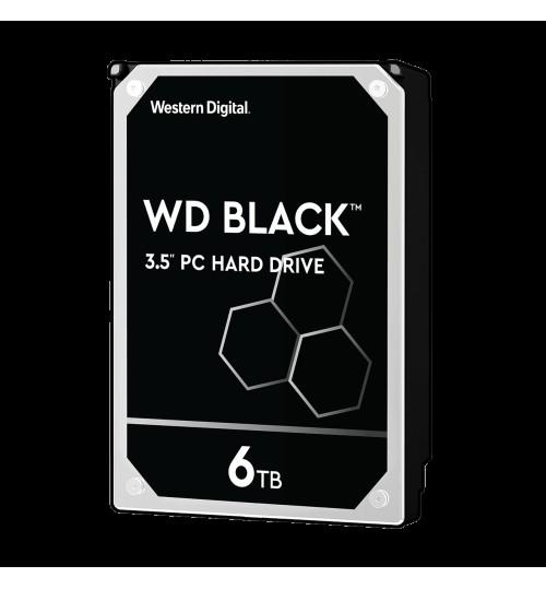 WD BLACK 6TB SATA3 7200RPM 256MB CACHE
