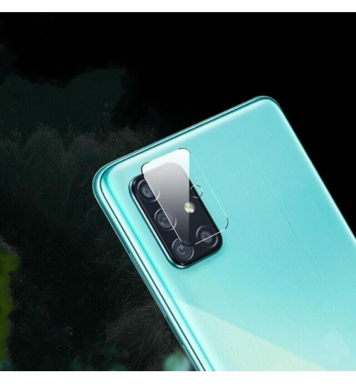 Galaxy A71 camera lens protector tempered glass 9H hardness HD