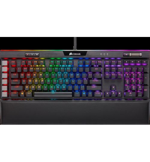 CORSAIR K95 RGB PLATINUM XT MECHANICAL RGB GAMING KEYBOARD CHERRY MX RGB SPEED - BLACK