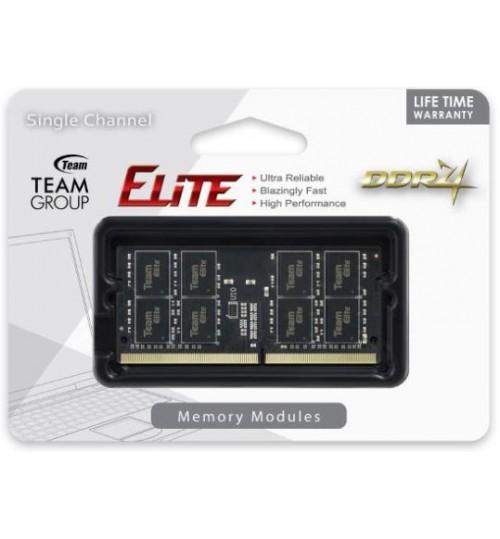 TEAM ELITE DDR4 8GB 2400 CL16-16-16-39 1.2V SODIMM