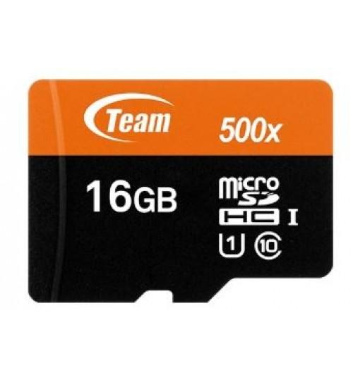 TEAM 16GB MICROSDHC UHS-I/U1 CLASS 10