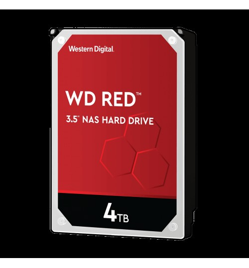 WD RED 4000GB (4TB) SATA3 256MB CACHE FOR NAS