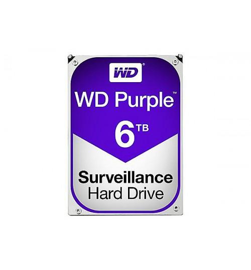 WD PURPLE 6TB SATA3 64MB CACHE HARD DRIVE