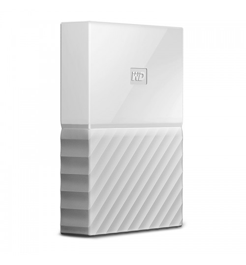 WD MY PASSPORT 4TB USB 3.0 EXTERNAL HDD WHITE