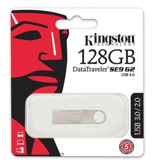 KINGSTON 128GB USB 3.0 DATATRAVELER SE9 G2 (METAL CASING)