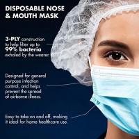 10pcs pack 3-ply Face Mask Anti-Virus