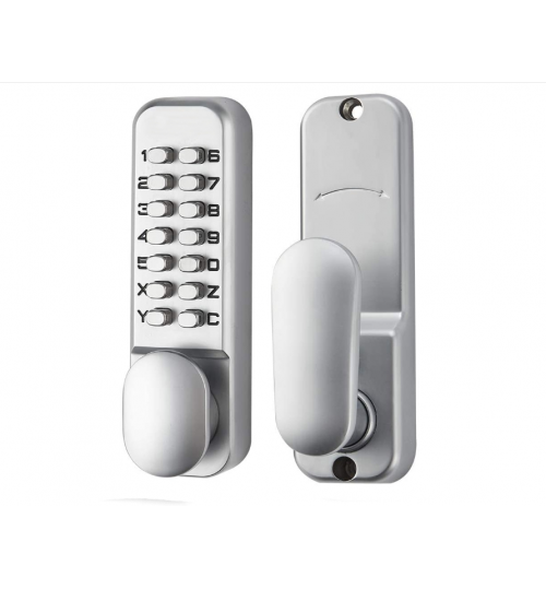 Push Button Keypad Code Mechanical Lock