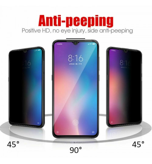 Samsung Galaxy A20 Glass Screen Protector Privacy Anti-Spy