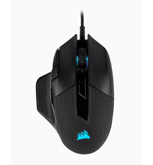 CORSAIR NIGHTSWORD RGB PERFORMANCE TUNABLE FPS/MOBA 18000 DPI OPTICAL GAMING MOUSE