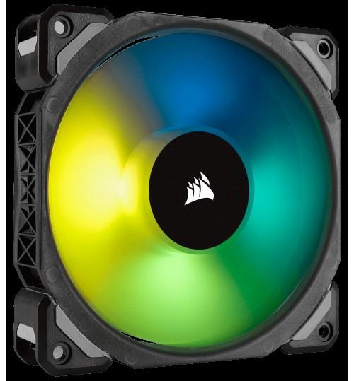 CORSAIR ML120 PRO RGB 120MM PREMIUM MAGNETIC LEVITATION RGB LED PWM FAN SINGLE PACK