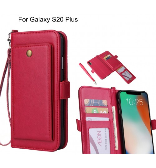 Galaxy S20 Plus Case Retro Leather Wallet Case