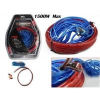 Car Amplifier Wiring Kit 1500W Audio Kit