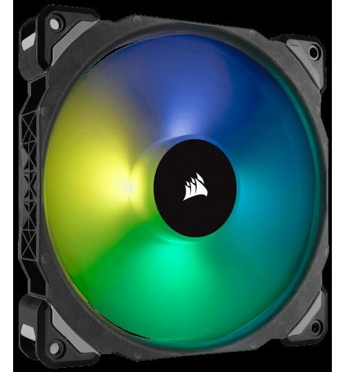 CORSAIR ML140 PRO RGB 140MM PREMIUM MAGNETIC LEVITATION RGB LED PWM FAN SINGLE PACK