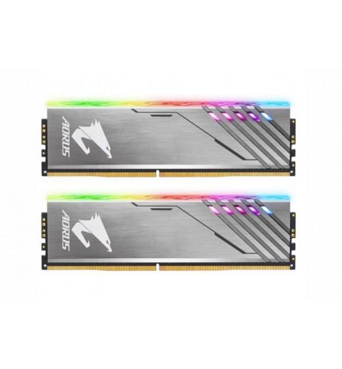 Gigabyte Aorus RGB 16GB (2 X 8GB) DDR4 MEMORY 3200MHz 16GB 2 x 288 DIMM 16-18-18-38 1.35vLimited Lifetime Warranty