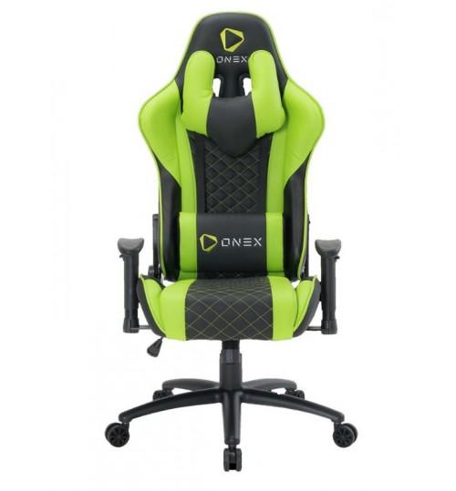 ONEX GX3 Series Gaming Chair - Green/Black