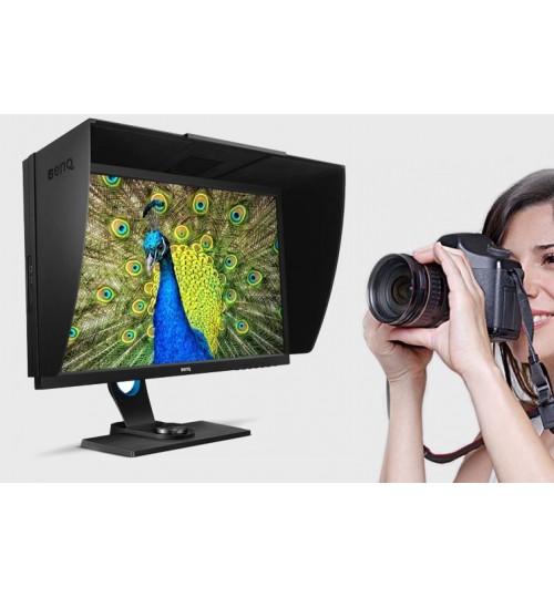BENQ SW2700PT 27'' PHOTOGRAPHER MONITOR WIITH  99% ADOBE RGB WITH IPS TECH100% SRGB 2560X1440 (2K) 5MS GTG 20M:1 DCR