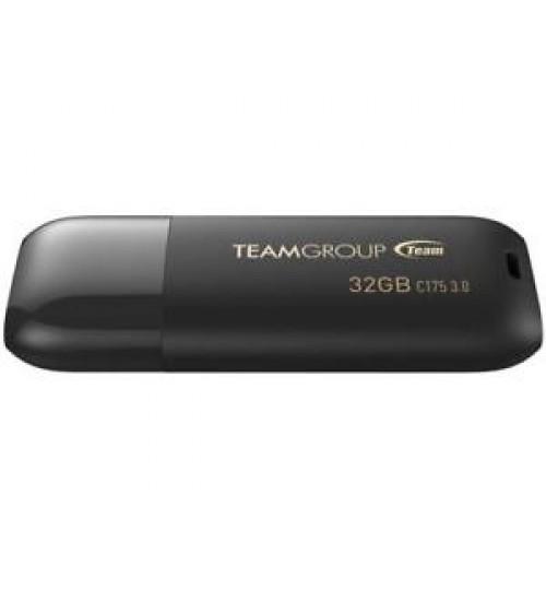 TEAM C175 SERIES 32GB USB 3.0 DRIVE BLACK