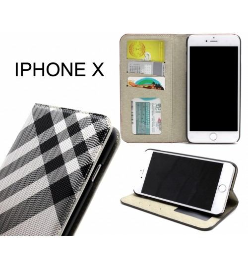 iPhone X case wallet Leather case