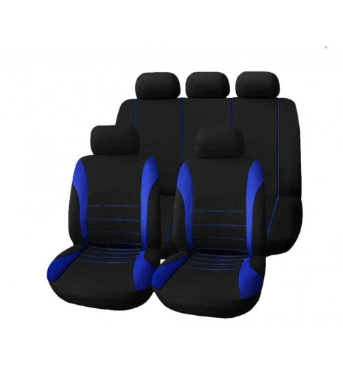 Universal Car Seat Cover Set 9 PCS