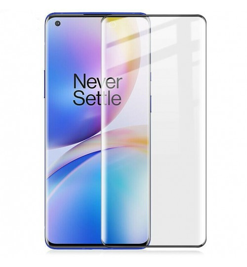 OnePlus 8 Pro Tempered Glass Full Screen Protector 3D