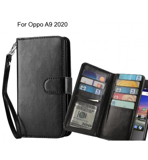 Oppo A9 2020 Case Multifunction wallet leather case