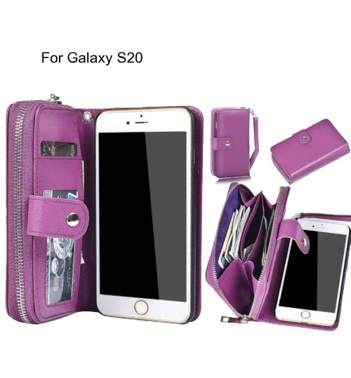 Galaxy S20 Case coin wallet case full wallet leather case