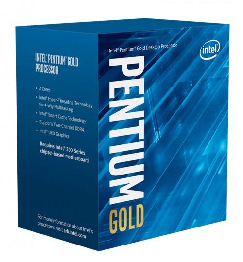 INTEL PENTIUM GOLD G6400 2 CORES 4 THREADS 4.0GHz 4M CACHE LGA 1200 PROCESSOR
